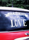 samolepka All You Need Is Love